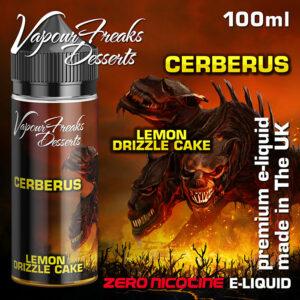 CERBERUS - Vapour Freaks Desserts e-liquid - 70% VG - 100ml