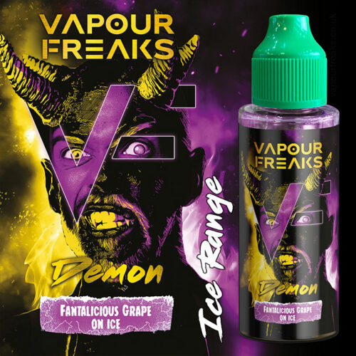 DEMON - Vapour Freaks e-liquid - 70% VG - 100ml