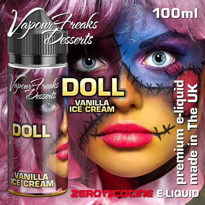 DOLL - Vapour Freaks Desserts e-liquid - 70% VG - 100ml