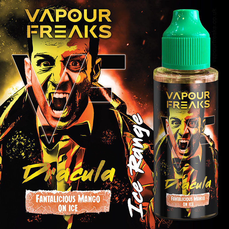 DRACULA - Vapour Freaks e-liquid - 70% VG - 100ml