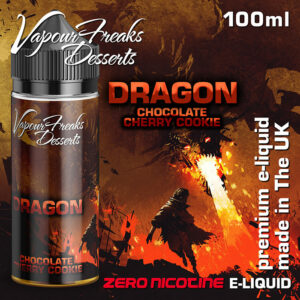 DRAGON - Vapour Freaks Desserts e-liquid - 70% VG - 100ml
