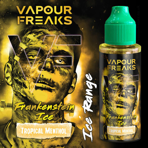 FRANKENSTEIN ICE - Vapour Freaks e-liquid - 70% VG - 100ml