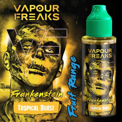 FRANKENSTEIN - Vapour Freaks e-liquid - 70% VG - 100ml