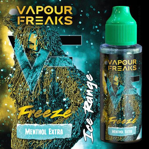 FREEZE - Vapour Freaks e-liquid - 70% VG - 100ml