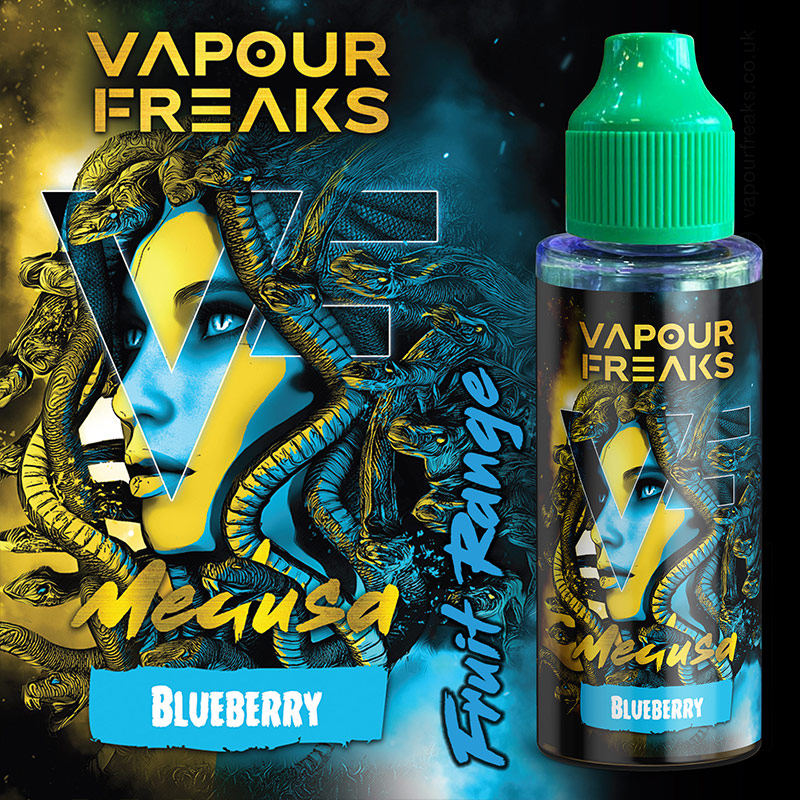 MEDUSA - Vapour Freaks e-liquid - 70% VG - 100ml