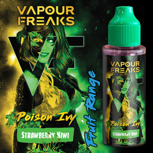 POISON IVY - Vapour Freaks e-liquid - 70% VG - 100ml