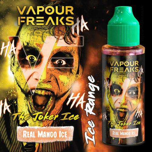 THE JOKER ICE - Vapour Freaks e-liquid - 70% VG - 100ml