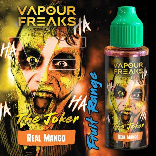 THE JOKER - Vapour Freaks e-liquid - 70% VG - 100ml