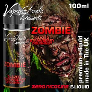 ZOMBIE - Vapour Freaks Desserts e-liquid - 70% VG - 100ml
