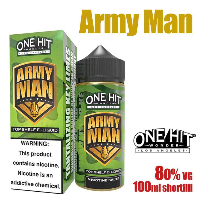Army Man - One Hit Wonder e-liquid - 80% VG - 100ml