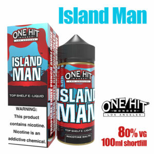 Island Man - One Hit Wonder e-liquid - 80% VG - 100ml