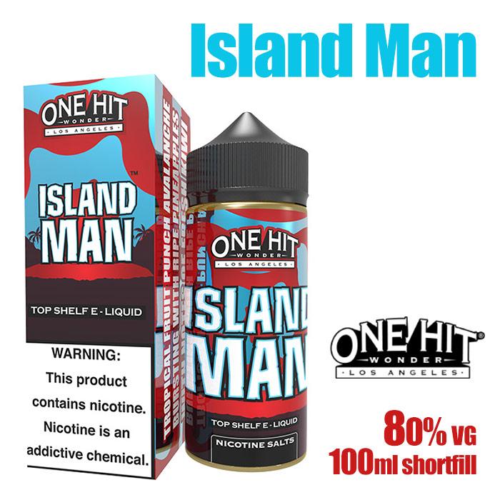 Island Man - One Hit Wonder e-liquid - 80% VG - 100ml