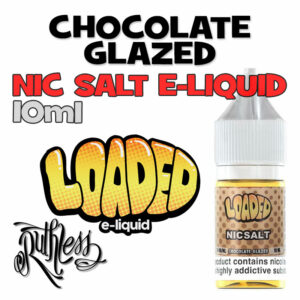 Chocolate Glazed - NicSalt e-liquid by Loaded - 10ml