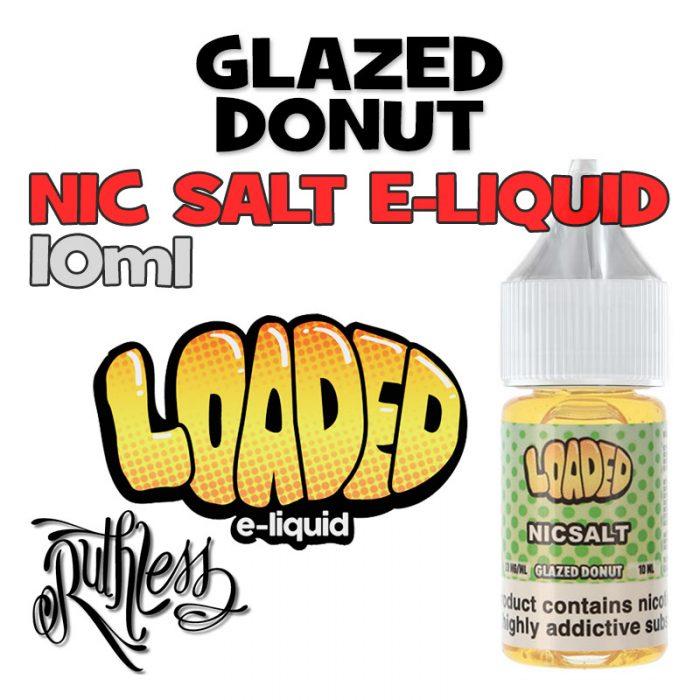 Glazed Donut - NicSalt e-liquid by Loaded - 10ml