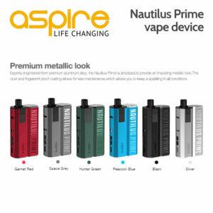Aspire Nautilus Prime vape device