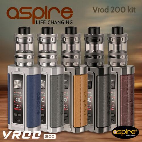 Aspire VROD 200w vape kit with Guroo Tank