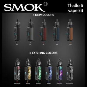 SMOK Thallo S vape kit (replaceable batteries)