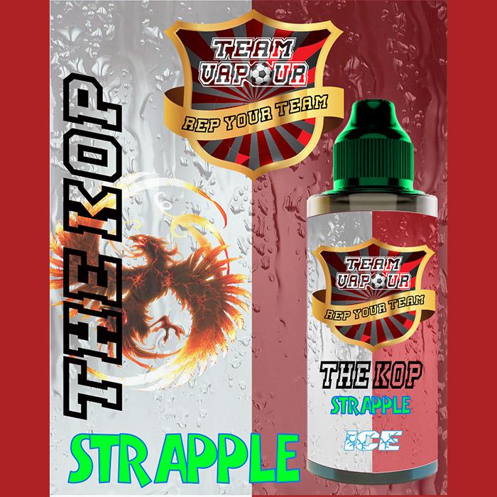 The Kop Strapple Ice - Team Vapour e-liquid - 70% VG - 100ml