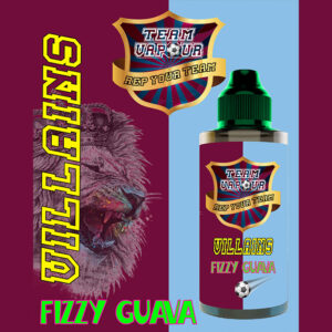 Villians Fizzy Guava - Team Vapour e-liquid - 70% VG - 100ml