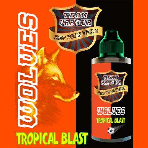 Wolves Tropical Blast - Team Vapour e-liquid - 70% VG - 100ml
