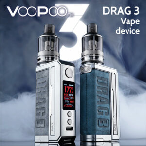 VooPoo DRAG 3 vape kit 177w (replaceable batteries)