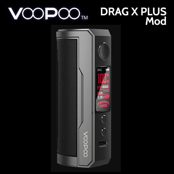 VooPoo Drag X PLUS 100w Mod (replaceable battery)