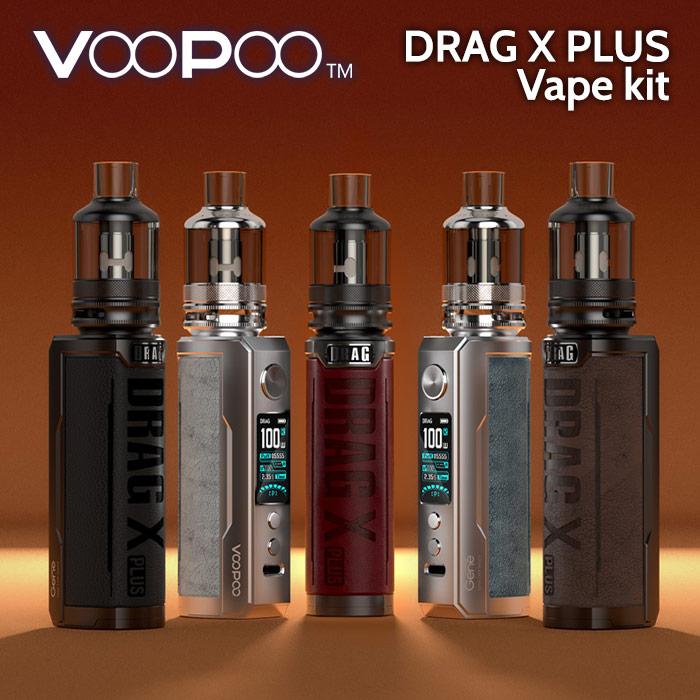 VooPoo Drag X PLUS Pod Vape Kit (replaceable battery)