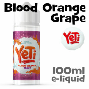 Blood Orange Grape - Yeti e-liquid - 100ml