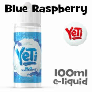 Blue Raspberry - Yeti e-liquid - 100ml
