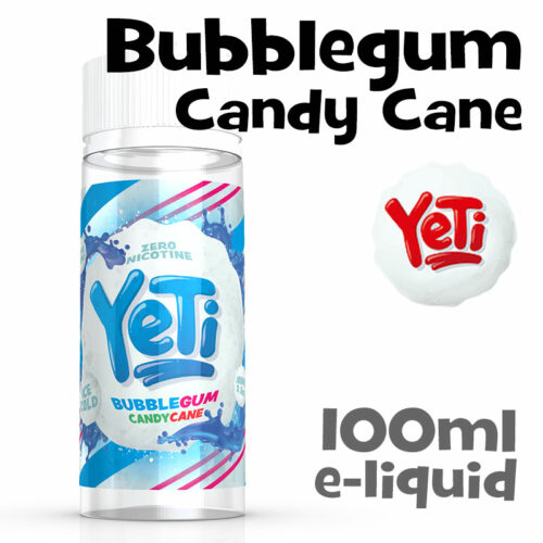 Bubblegum Candy Cane - Yeti e-liquid - 100ml