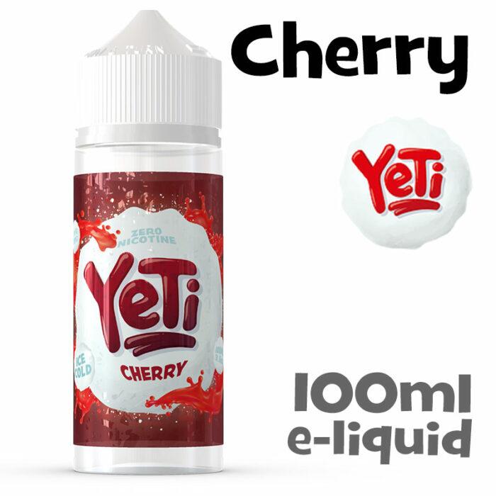 Cherry - Yeti e-liquid - 100ml
