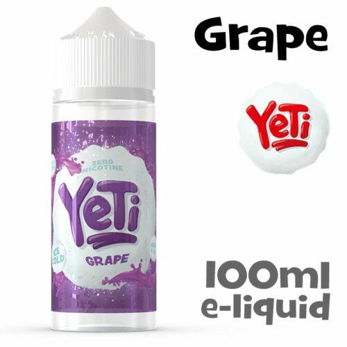 Grape - Yeti e-liquid - 100ml