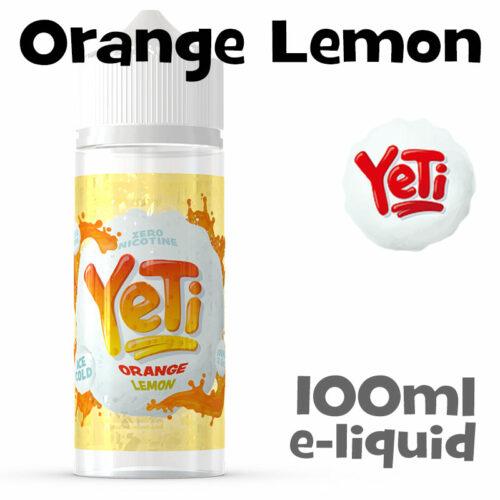 Orange Lemon - Yeti e-liquid - 100ml