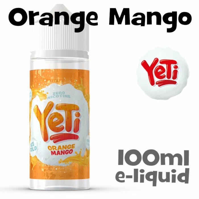 Orange Mango - Yeti e-liquid - 100ml