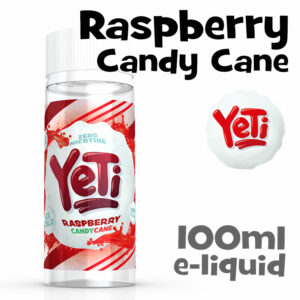 Raspberry Candy Cane - Yeti e-liquid - 100ml