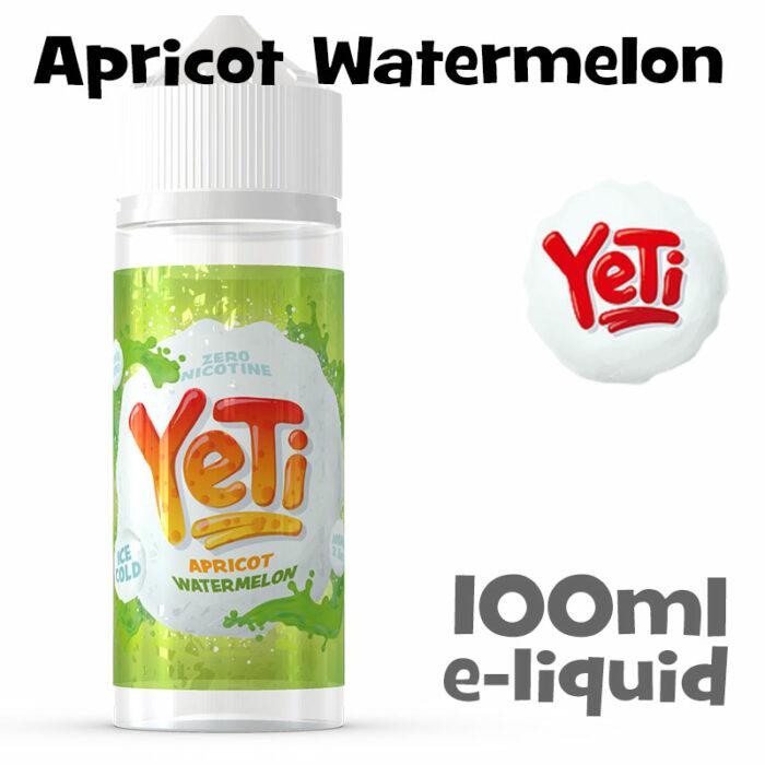 Apricot Watermelon - Yeti e-liquid - 100ml