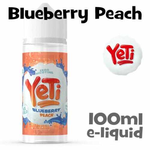 Blueberry Peach - Yeti e-liquid - 100ml