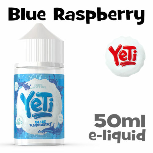 Blue Raspberry - Yeti e-liquid - 50ml