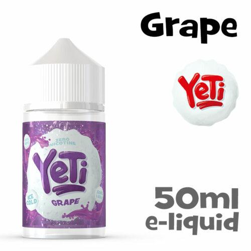 Grape - Yeti e-liquid - 50ml