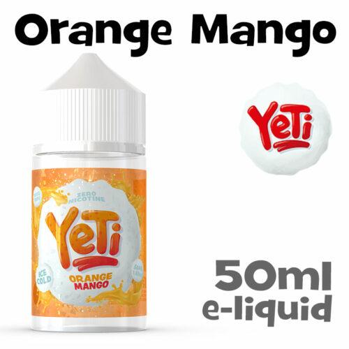 Orange Mango - Yeti e-liquid - 50ml