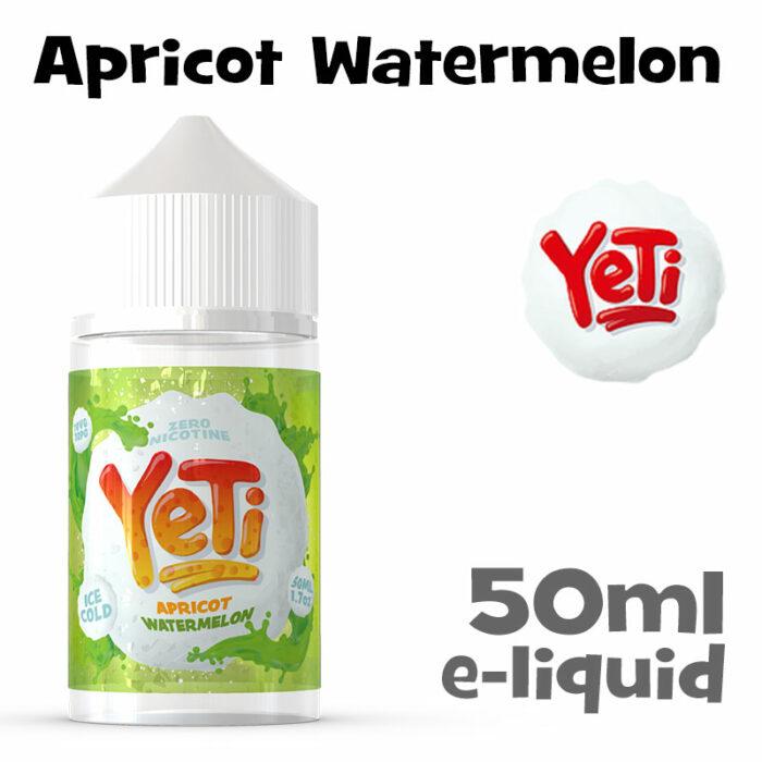 Apricot Watermelon - Yeti e-liquid - 50ml