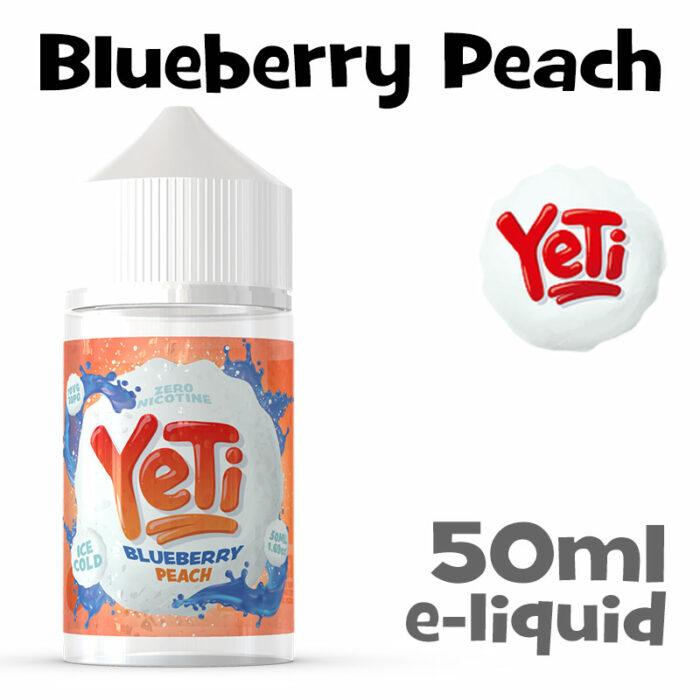 Blueberry Peach - Yeti e-liquid - 50ml
