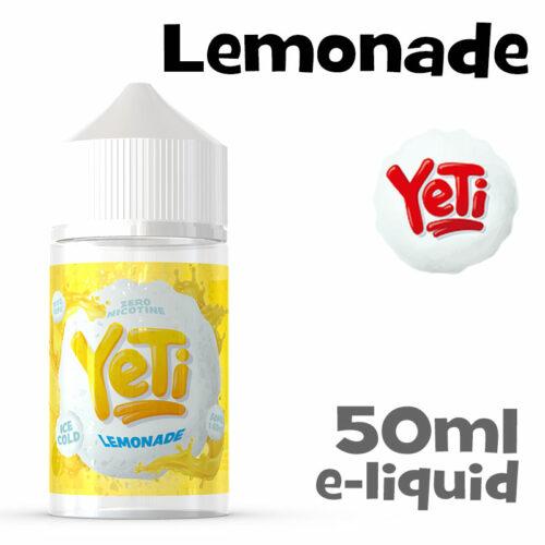 Lemonade - Yeti e-liquid - 50ml