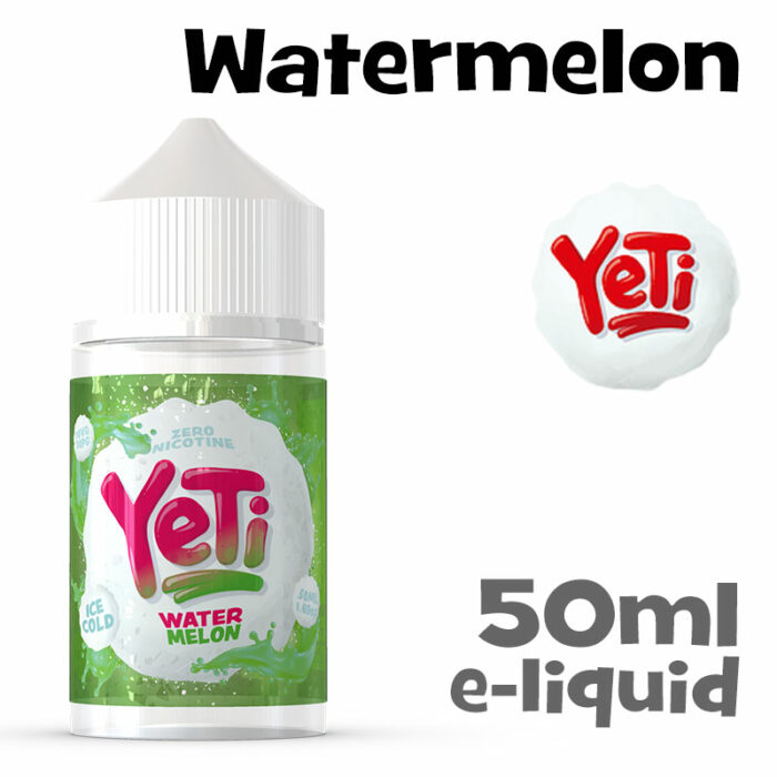 Watermelon - Yeti e-liquid - 50ml