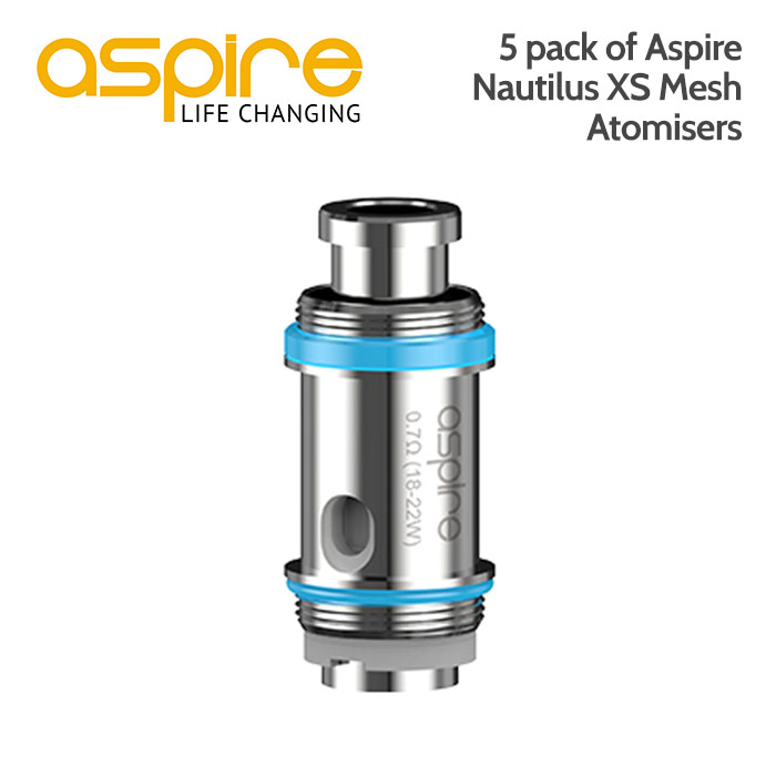 Aspire Nautilus XS Mesh Atomisers